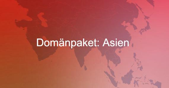 Domänpaket Asien