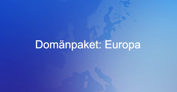 Domänpaket Europa